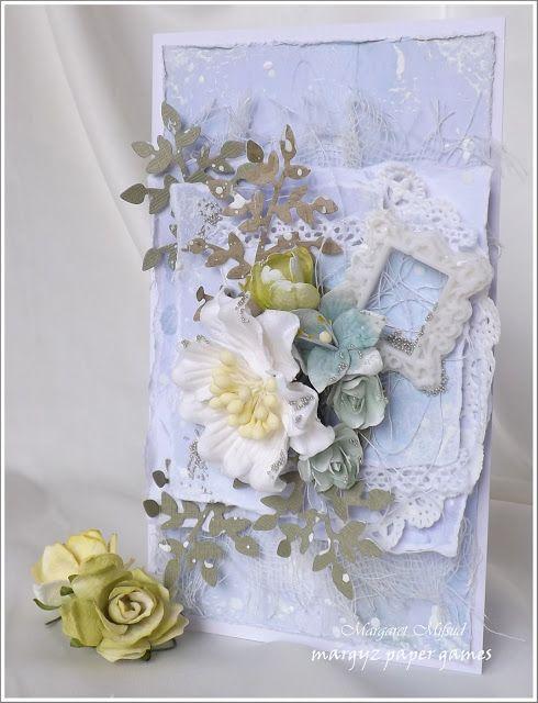 Meg's Garden: Watercolour in Blues - Cards by Margaret Mifsud