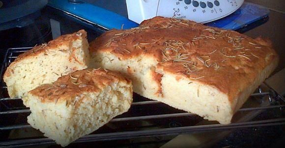 Thermomix Gluten free Focaccia