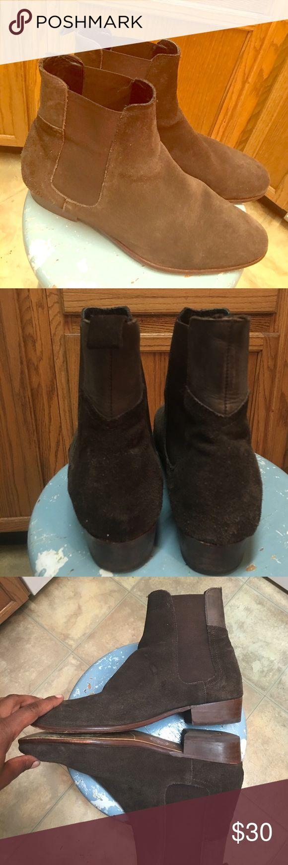 Men's Brown suede boots Men's brown suede boots. Shoes Boots