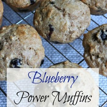 These blueberry power muffins are not overly sweet, they combines my love of blueberries with some healthy ingredients.