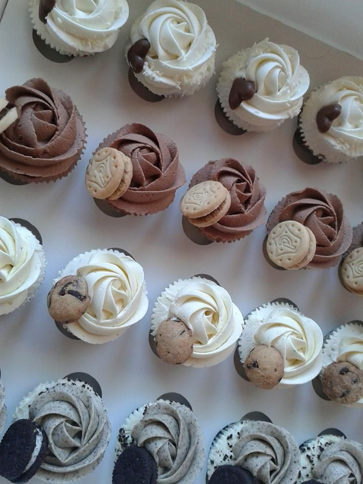 Minicupcakes de sabores variados