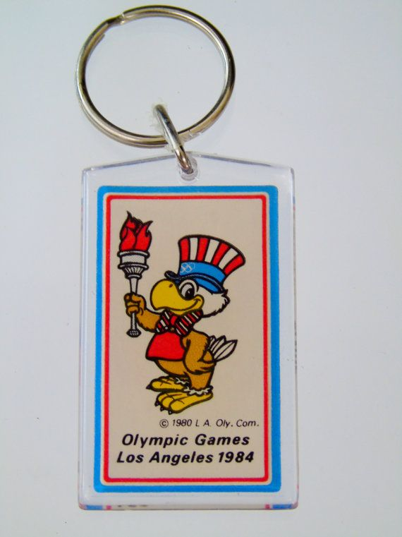 Check out this item in my Etsy shop https://www.etsy.com/listing/479636966/1984-los-angeles-olympic-games-keychain
