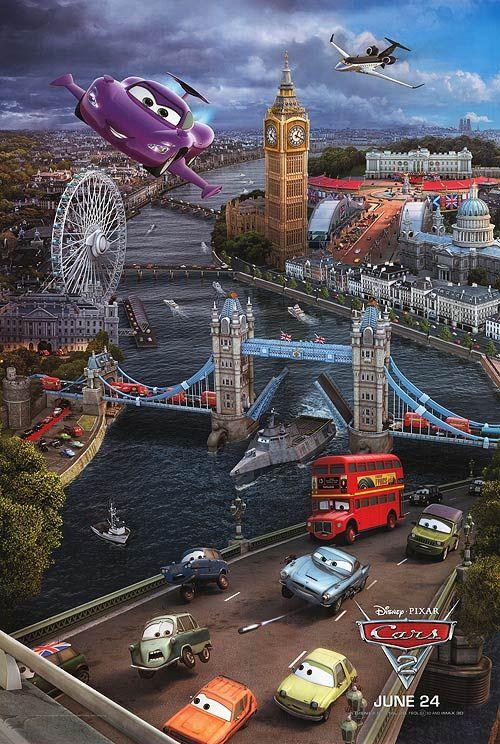 Cars 2: London