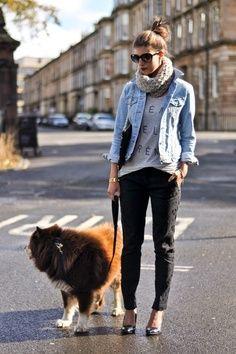 Stunning denim jacket!