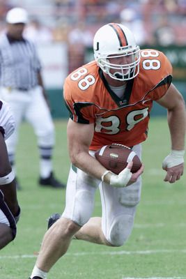 jeremy shockey miami hurricanes | Miami Hurricane Football: Top 11 Things the Hurricanes Do Very Well ...