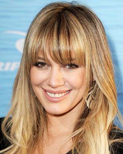 Hilary Duff's bangs—another great haircut from 2011.