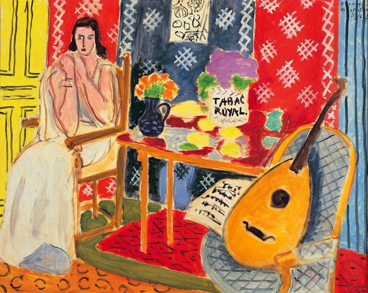 Matisse   Matisse suonava la chitarra con le corde dei pennelli   René Art ...