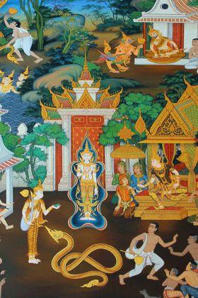 Thai Buddha Story