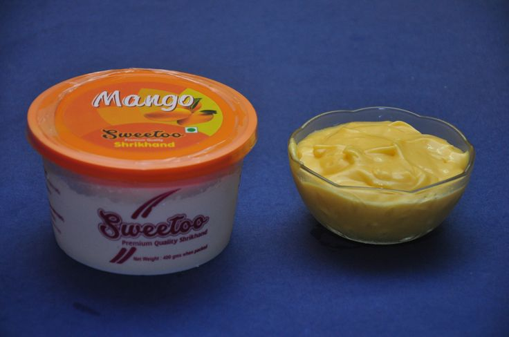 Mango shrikhand can be served with hot puris to add more taste to it.  Sweetoo is an online store in Nagpur that offers different types of shrikhand. Our shrikhand are of good quality and has delicious taste.