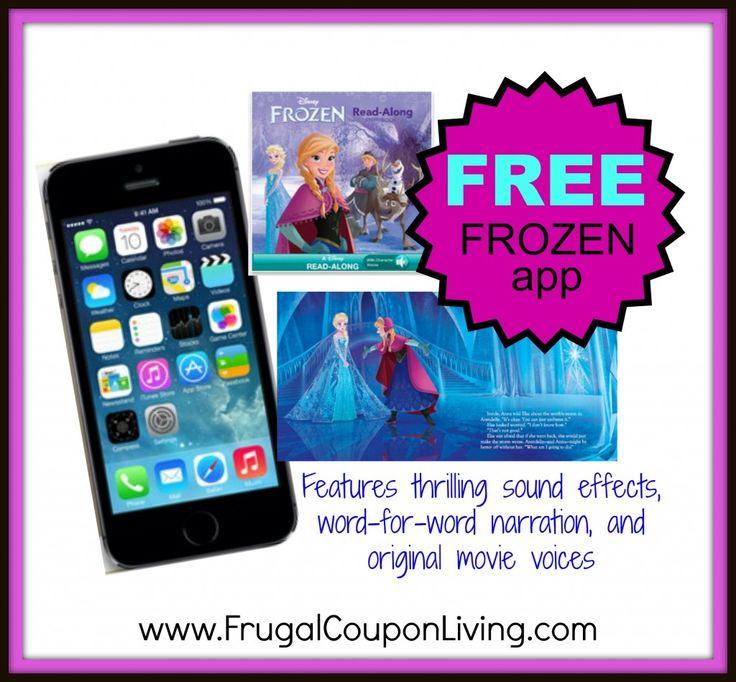 FREE Frozen App – Frozen Read-Along