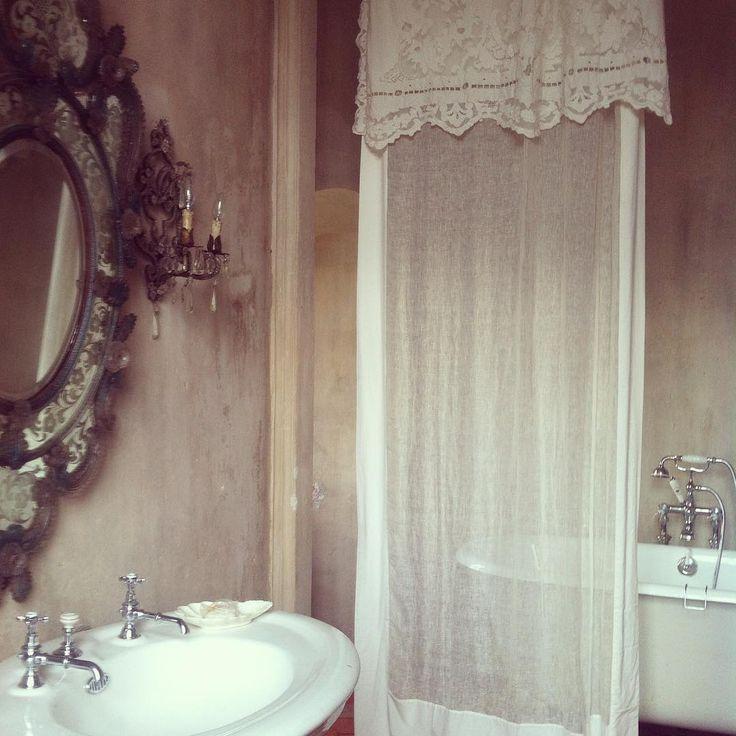 364 best belles salles de bains images on pinterest room shabby chic bathr - Salle de bain shabby chic ...