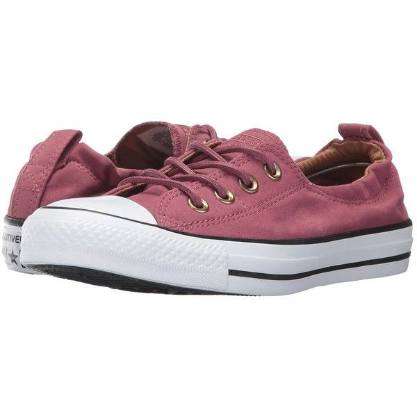 Converse Chuck Taylor All Star Shoreline - Slip Peached Canvas... ($55) ❤ liked on Polyvore featuring shoes, sneakers, converse shoes, converse sneakers, canvas slip on shoes, white trainers and white canvas shoes