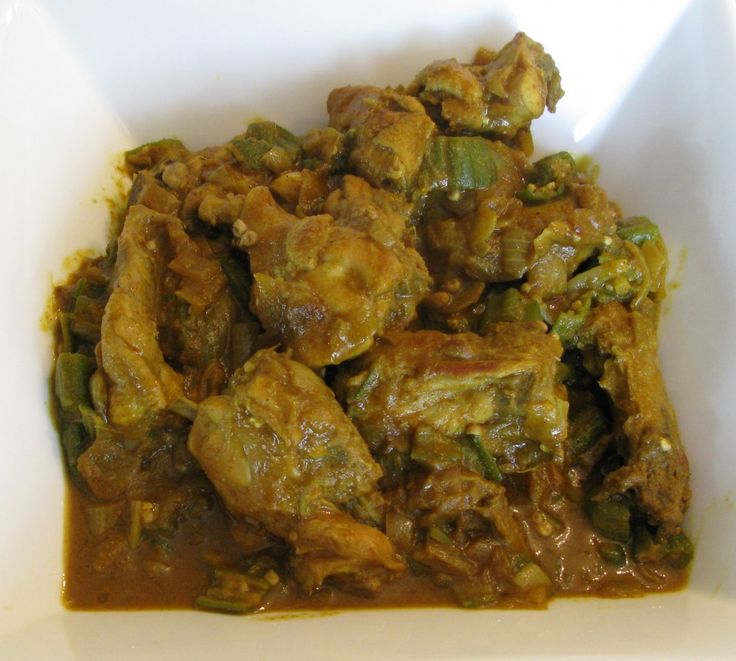 Chicken & Okra Bhuna