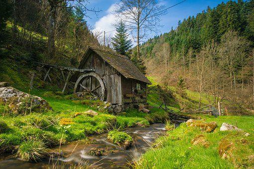 Mühle, Schwarzwald