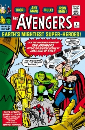 Jack Kirby created the Avengers. Don't forget that.