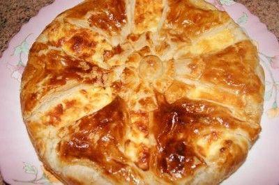 Французский сырный пирог : Выпечка несладкая