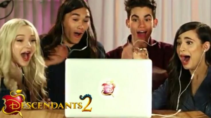 The Cast of Descendants 2 Watch For The First Time The Trailer / Ven el ...