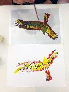 Corso di pittura creativa a Milano: scopri l'animale che è in te!