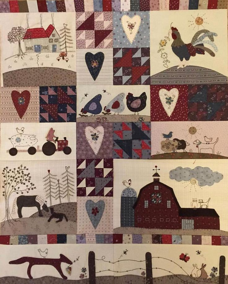 It's so exciting to see Anderson's Farm quilts popping up everywhere. This one belongs to @kayharmon01 #lynetteandersondesigns #andersonsfarm