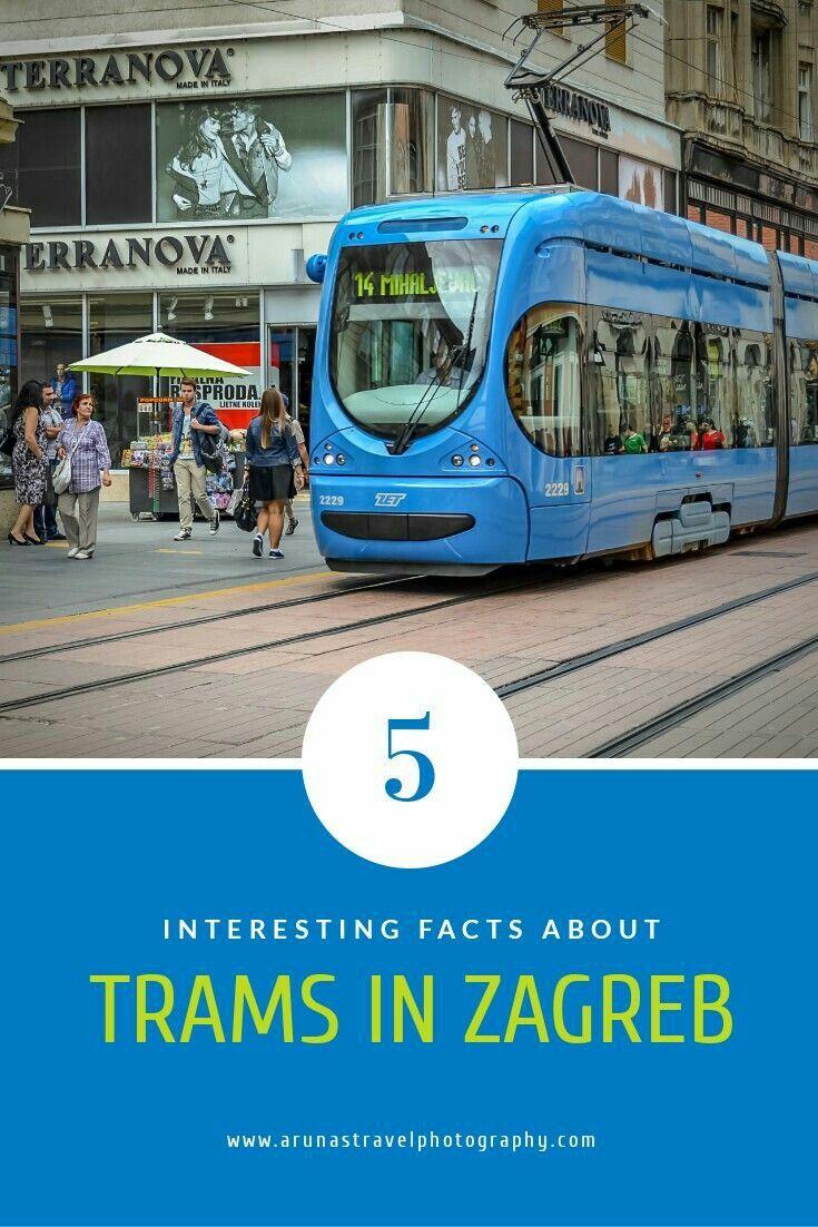 Public Transport In Zagreb Trams Transporte Viajes Terranova
