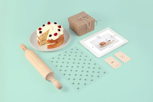 Piece of Cake by Sorbet , via Behance