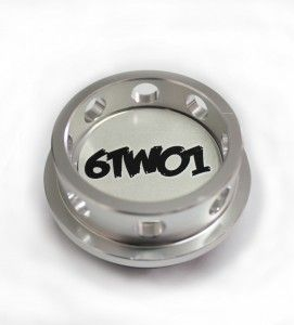 6TWO1 Silver Oil Cap £34.99  6TWO1 has started to create its OWN line of products, hand choosing the factories for these to be made in & over looked by 6TWO1 staff we have been very meticulous in making sure the products that have our name on, we have had a hand in making! The 6TWO1 Oil cap is easy to remove (use a tool through the wholes to avoid hurting your hands)