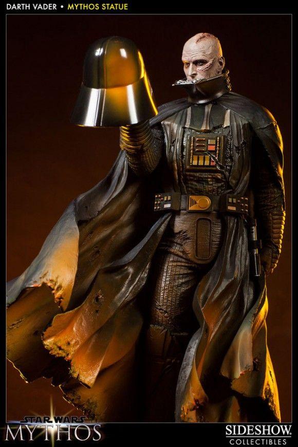 Estátua sensacional de Darth Vader é incrivelmente cheia de detalhes!