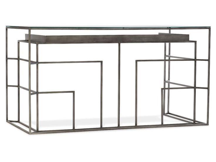 Hooker Furniture Home Office Melange Gavin Writing Desk 638-10015-LTBR