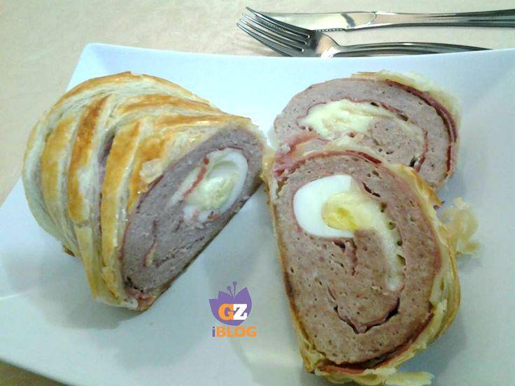 Il polpettone in crosta è un gustosissimo secondo di carne,che potrete farcire con gli ingredienti che amate di più!!!