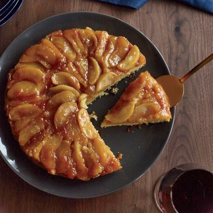 This is one of the best upside-down cakes ever—the maple syrup infuses both the apples and the cake, making the dessert taste like a stack of apple ...
