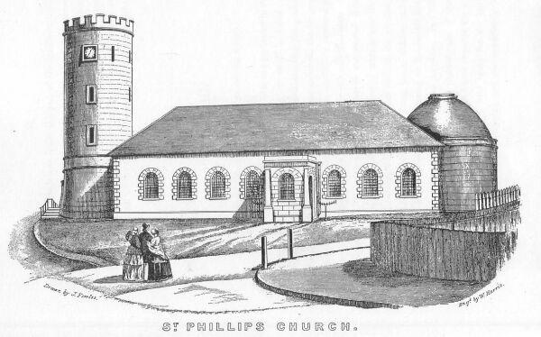 St Phillps Church,Sydney 1848