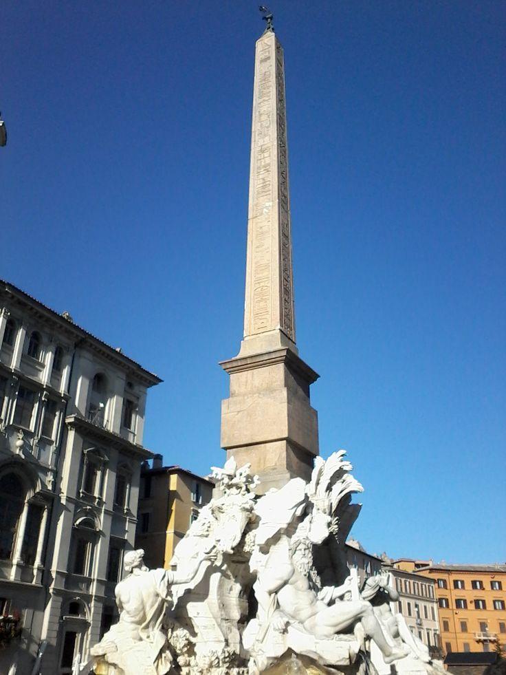 Fontana dei quattro Fiumi Piazza Navona Roma