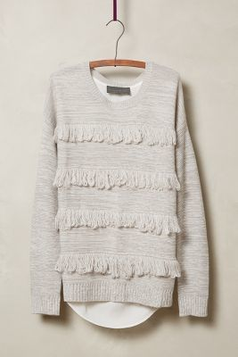 Sunday in Brooklyn Fringed Lyra Pullover #anthrofave #anthropologie #sale