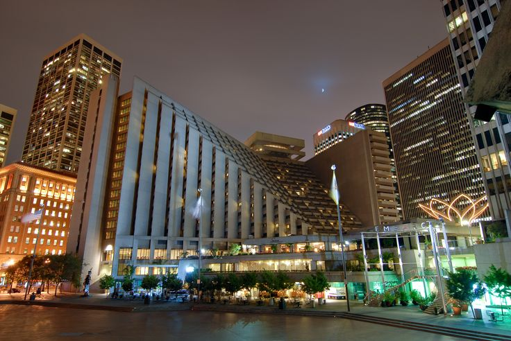 Exterior of the hotel. Photo taken by Luke George Photography