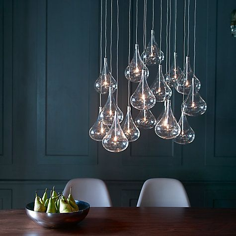 Jensen Dangle Cluster Ceiling Light 16 Light John Lewis