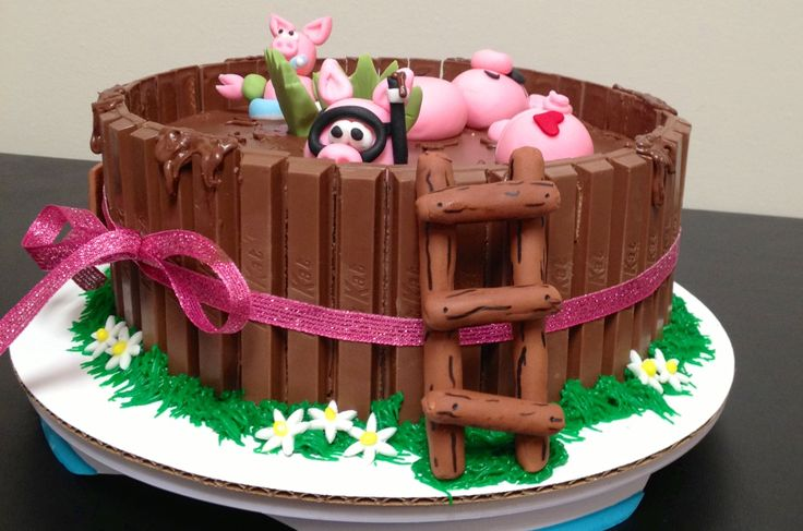 Pig cake | Farm | Pinterest | Cakes, Roasts and Pigs
