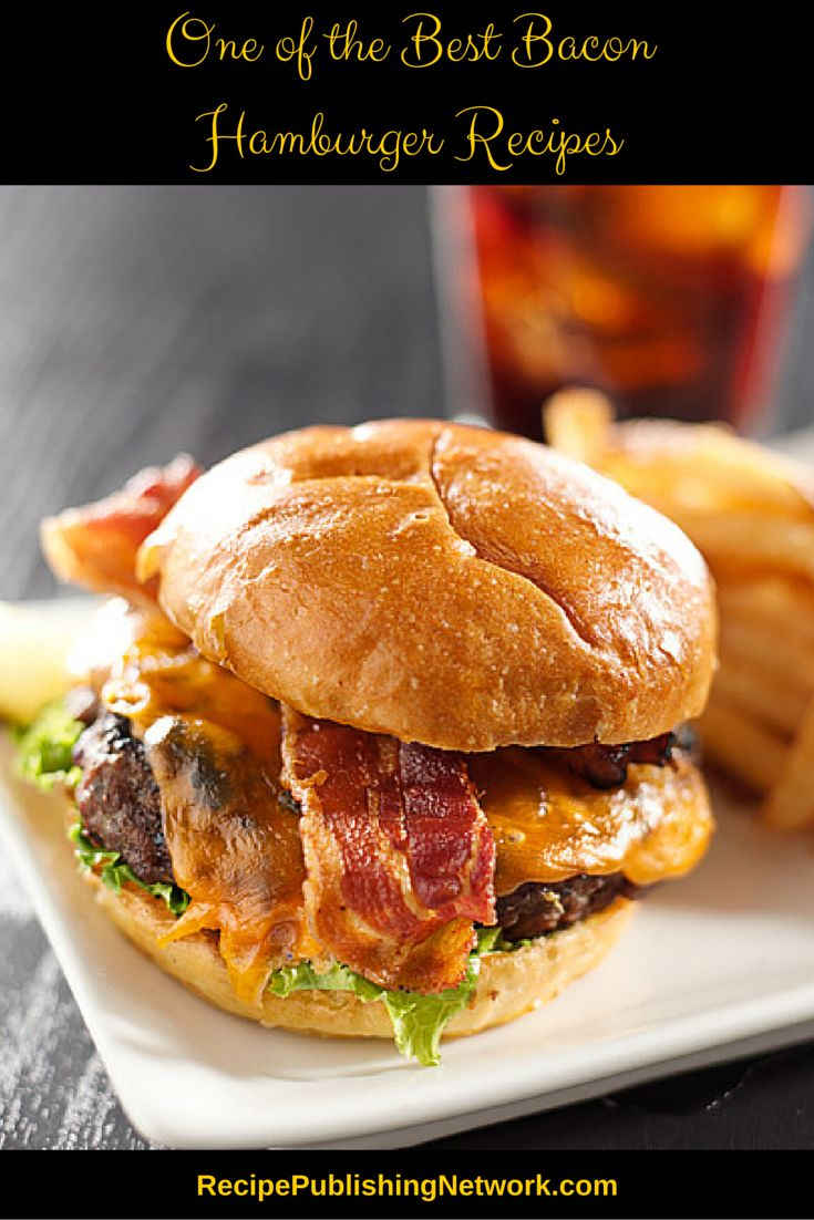 With that recent history it should be no surprise that the world's best hamburger recipes often include bacon. Enjoy the traditional flavor of bacon with a delicious hamburger tonight.