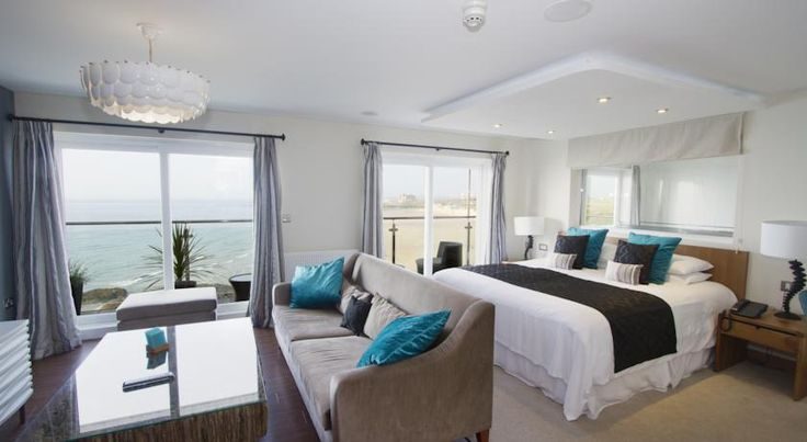 £159 Situated overlooking Fistral Beach in Newquay, the Fistral Beach Hotel and Spa boasts a bar, restaurant and free Wi-Fi throughout.