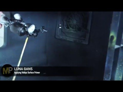 Building the Ma.k Ma.K LUNA GANS part 14 [Surface primer] - YouTube