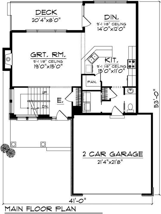 175 best images about planos de casas on pinterest for Planos de casas de 3 recamaras