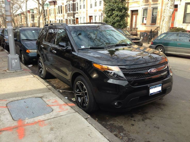 2014 ford explorer black grill