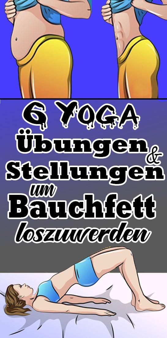 Yoga Übungen und Stellungen, um Bauchfett loszuwerden