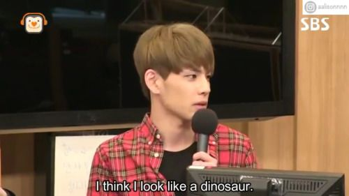 Cute dinosaur alive #Day6 #wonpil