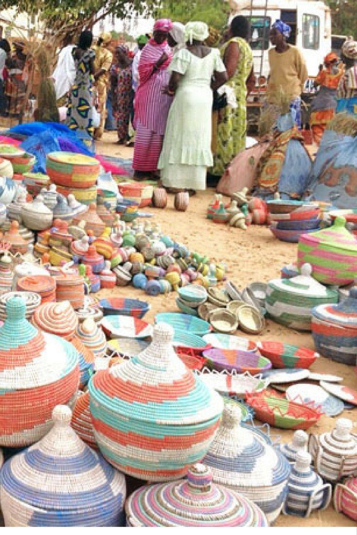 Kenyan Handmade Baskets : Best african baskets senegal handmade