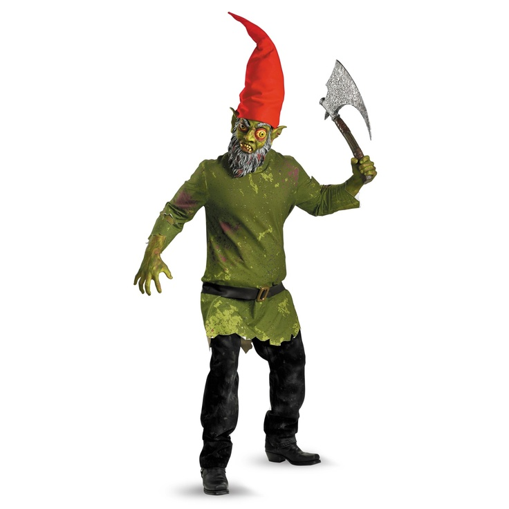 Evil Gnome and I would be a friendly girl gnome of course