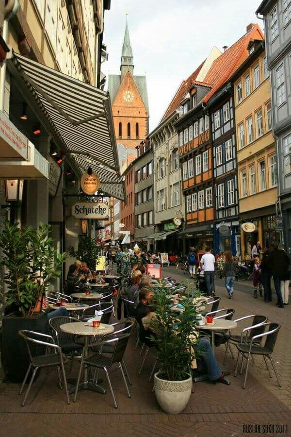 Café spot in Hannover Germany