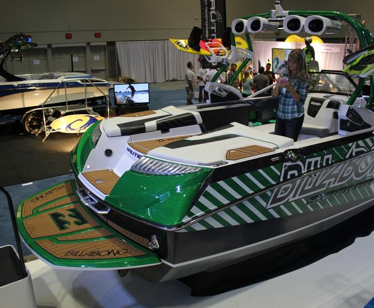 SeaDek - Nautique - Billabong Boat Surf Expo 2012