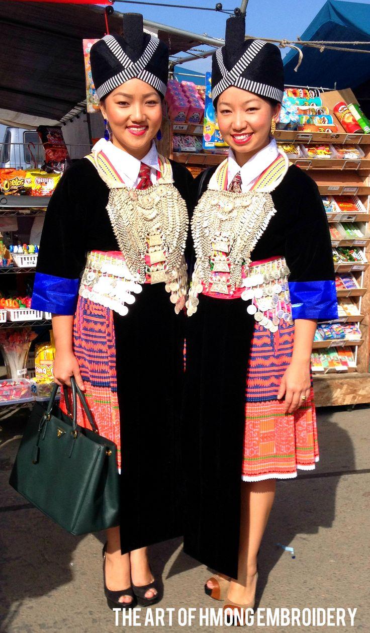 Hmong Skirt The Art Of Hmong Embroidery Hmong Wedding