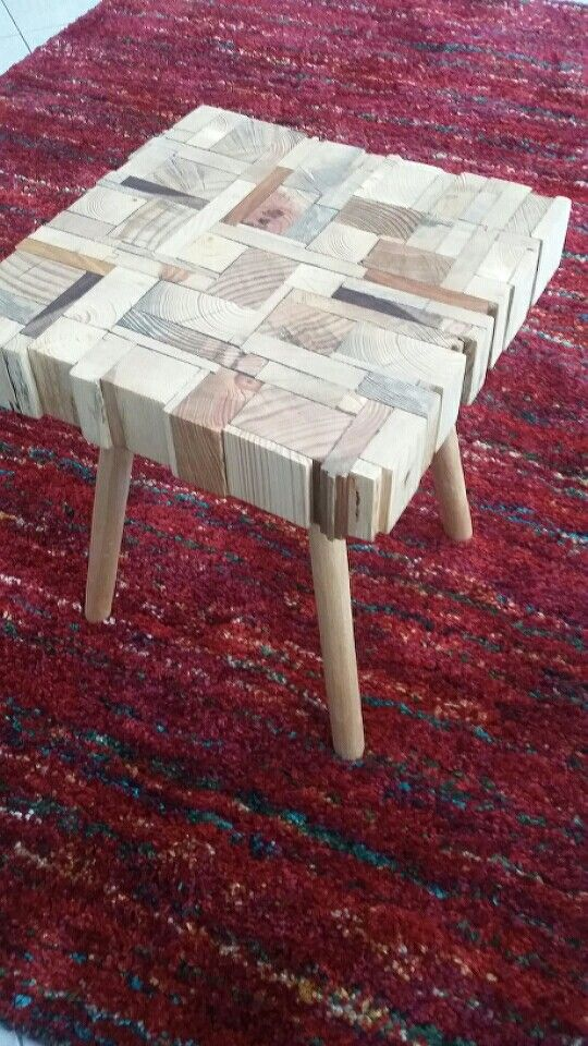 Side table handmade