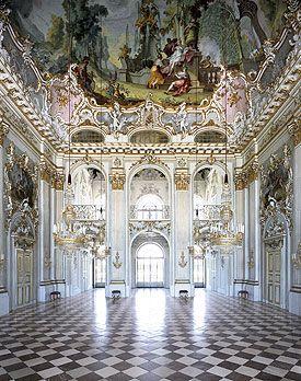 Nymphenburg Palace Interiors - Great Hall